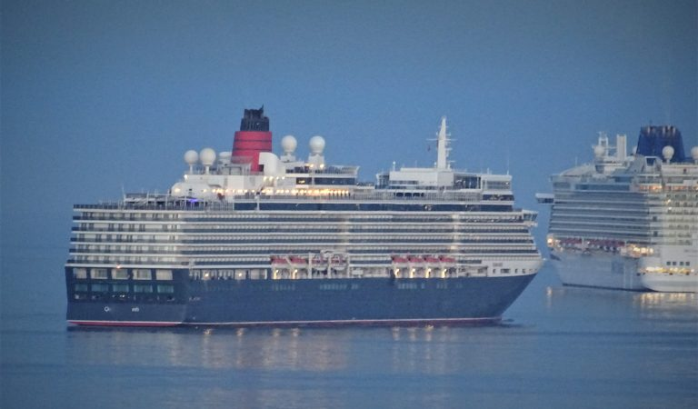 A Treat For Cruise Ship Spotters  UPDATED !